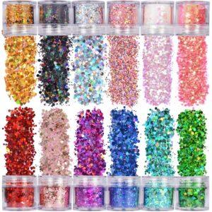 Glitter Glue and Glitter Powder
