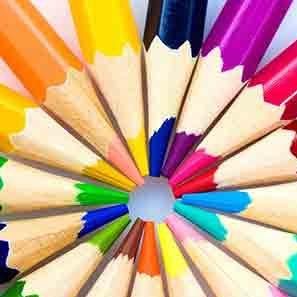 Colored Pencils تلوين خشب