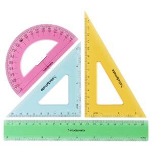 Rulers & Geometric Sets مساطر وعلب هندسة