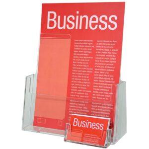 Brochure & Card Holder